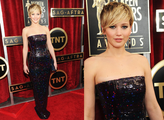 Jennifer Lawrence at the 2014 SAG