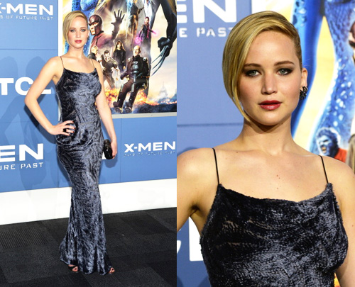 Jennifer Lawrence at the New York Premiere of X-Men Days of Future Past