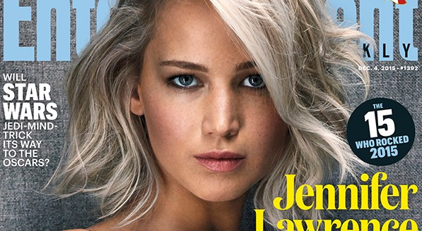 Jennifer Lawrence is Entertainment Weekly's Entertainer of the Year